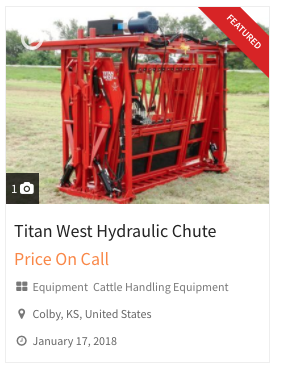 Selling Farm Equipment