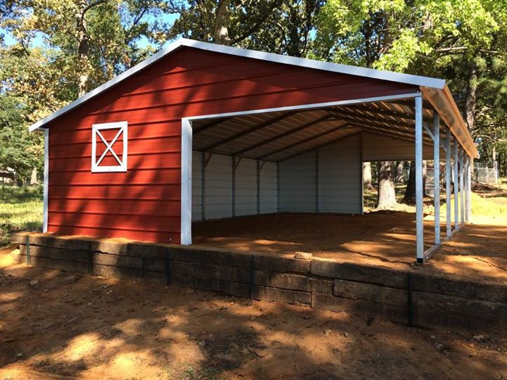 Loafing and equipment sheds farmer john company for Equipment shed