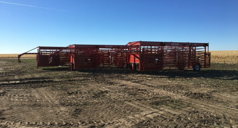 Titan West Portable Corrals