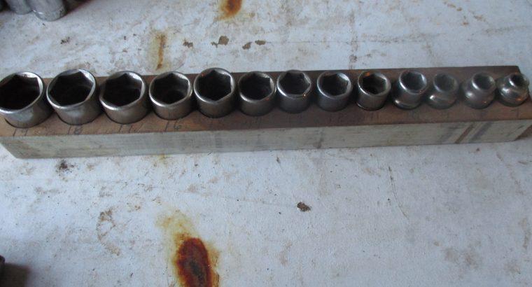 Craftsman Metric Set