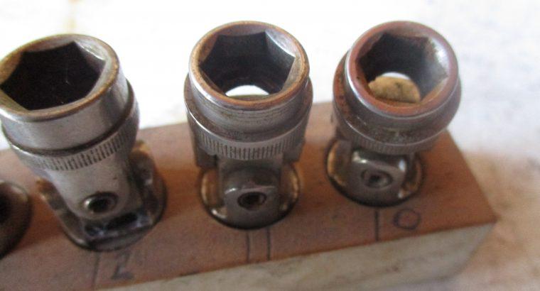 Chrome Vandium Knuckle Socket Set