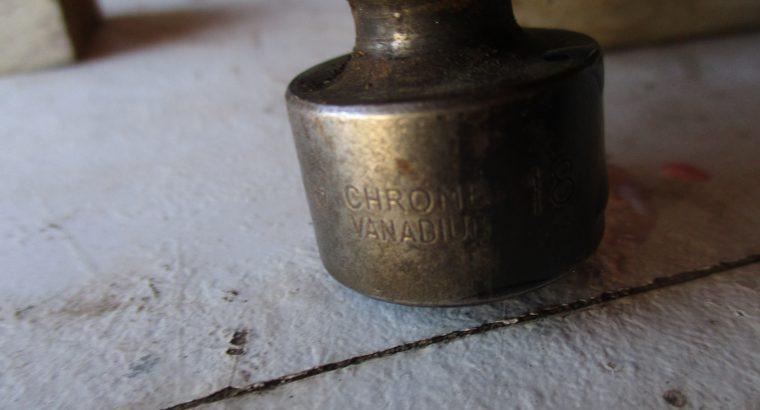 CRV Knuckle impact sockets