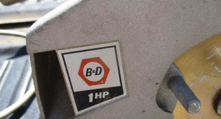 7 inch B&D Circular Saw
