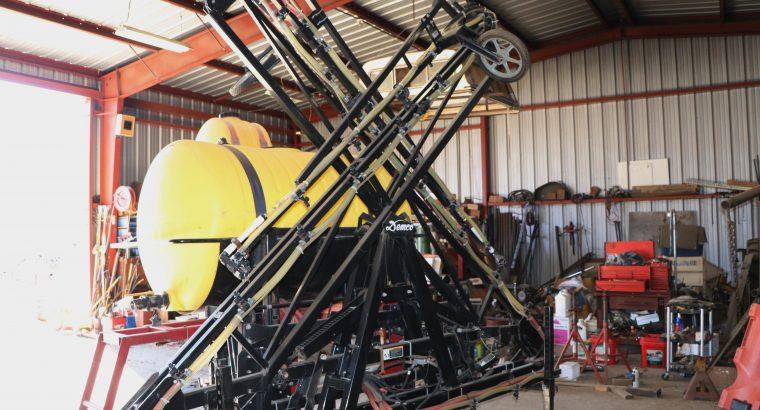 50′ mounted boom sprayer