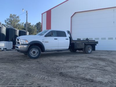 2013 5500 Dodge, with/without Bale bed